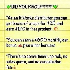 True story! Looking for 4 more people to join my team today! People looking to make some extra money rather it be an extra $300 to $1000! I want to help you! Contact me at 8017394560 or woodyouwrap@yahoo.com