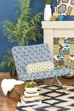 Set your sights on a ho-hum hangout turned ultra hip—with a little help from our versatile duck cloth.