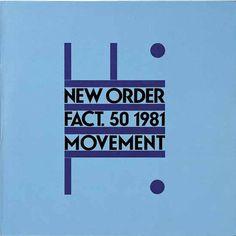 New Order Fact. 50 1981 Movement_ Peter Saville, Brett Wickens and Grafica Industria