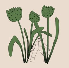 Lost illustration printed on 110 lb. All prints are signed. Book Design Inspiration, Tall Flowers, Illustration Techniques, Love Illustration, Prints For Sale, Pretty Pictures, All Art, Cactus Plants, Painting & Drawing
