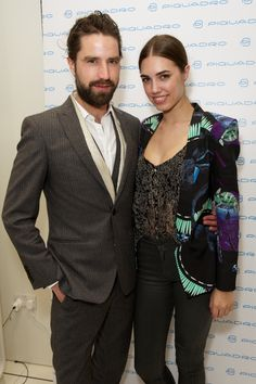 Jack Guinness and Amber Le Bon