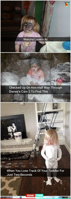 20 Funny After-effects of Leaving Your Kids Home Alone #kids #funny #funnypicture #humour #parents #parenting