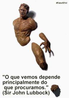 #DETERMINAÇÃO _ Shine Your Nature _ #FatorSYN! imagem: escultura de Matteo Pugliesi