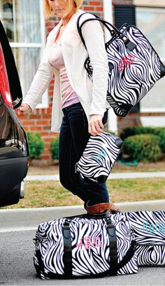 All about Zebra    I love my messenger bag. I am putting my scanner and family history materials in it. I am ready to go!