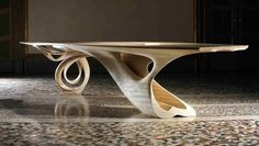 Continuum Table from Joseph Walsh.