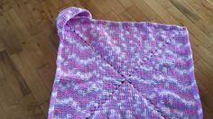Hooded Baby Blanket Pattern
