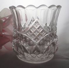Tarentum Glass co. | EAPG Tarentum DALTON Toothpick Holder 1904 from ...