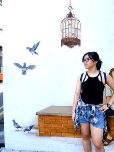SG mural - Bird Corner by Yip YC