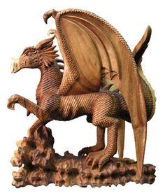 The Wood Dragon (to keep me afloat) http://www.dragon-art-work.com/dragon-art-large/013228.jpg