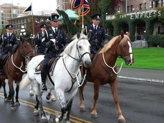 Vancouver Police Mounted Squad