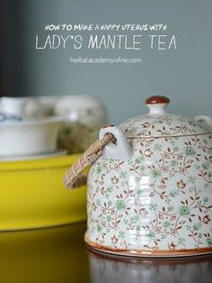 Lady's Mantle Tea - herbalists adore her for her powerful traits to aid in healing, particularly, for women throughout their life span.