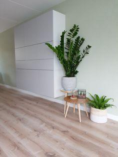 Woonkamer interieur met Besta van Ikea.