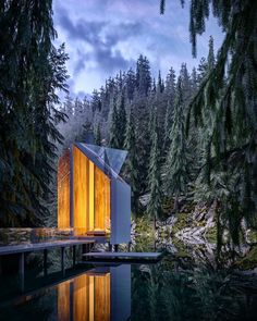 Russian Architect Merges Nature and Architecture Designing Modern House Idyll