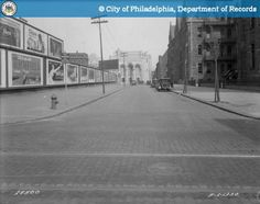 Green Street-Looking East from 15th Street - 1930