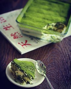 I think this is matcha tiramisu ?? !  credit @matcha_organion . . .  #matchatea #matchaholic #matchapowder #matchalover #matchagreentea #healthfoodporn #teatox #dessert #dessertporn #greentealover #healthylife #cleanenergy #yum #caffeine #timetowakeup #matchalatte #superfood #healthyliving #greenteapowder #plantbaseddiet #healthyeats #greentea #cleaneats #morningritual #caffeinefix #tasty #desserttime #caffeineaddict #plantbased
