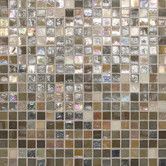 """Found it at Wayfair - City Lights 1/2"""" x 1/2"""" Glass Frosted Mosaic in Barcelona"""