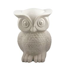 Owl Porcelain Lamp