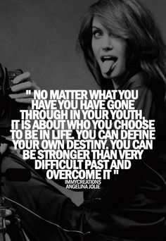 I love this saying!!!!!!!  It took a therapist to slap me in the face using these same words to help me grow up!!!