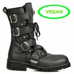 m1473-v1 New Rock Vegan Boots