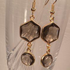 Smokey Quartz earrings from Irka Design
