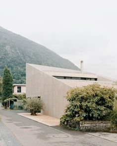 """Pyramid House was commissioned by a family who wanted a """"one-of-a-kind"""" dwelling that challenged the look of neighbouring houses while maintaining their privacy."""