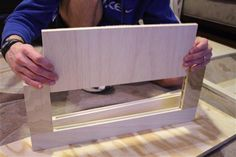 How to make shaker style cabinet doors.