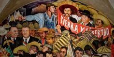 La Revolución Mexicana   Historia Universal Flores Magon, Historia Universal, Western Caribbean, Ap Spanish, Mesoamerican, Spanish Language, Chicano, Culture, Painting