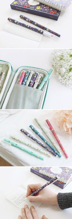 Note taking doesn't have to be boring with a Willow Pattern Pen! These adorable pens come in a variety of colors and unique designs. Prepare for every occasion with the whole set!