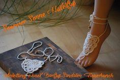 16 Besten Barfuss Sandalen Häkeln Bilder Auf Pinterest Crochet