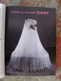 Comme des Garçons SHIRT Fall/ Winter advertising in i.D magazine 30TH Birthday Issue. Artwork by Swedish Artist SIMEN JOHAN from his Until The Kingdom Comes serie 2007/2009.