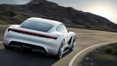 Porsche Mission E announced, an electric sports sedan that charges faster than a Tesla | The Verge