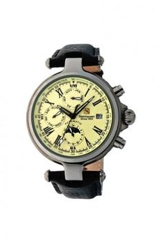 Classic Automatic Calendar Watch With Am/Pm Indicator