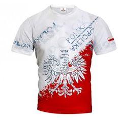 POLSKA STREET EAGLE Koszulka Patriotyczna T-Shirt