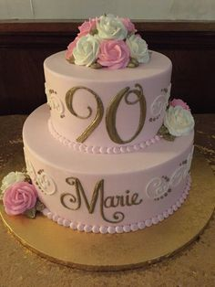 Image Result For 90th Birthday Cakes