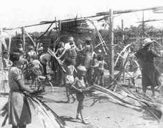 Japanse werkkamp Tjideng, Hier zaten Jeroen en zijn moeder.