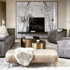 luxury living room: Incredible Coastal Glam Interior Design And Decor . Glam Living Room, Elegant Living Room, Small Living Rooms, Interior Design Living Room, Living Room Decor Gold, Luxury Living Rooms, Living Room Artwork, Grey Living Room Furniture, Grey Living Room With Color