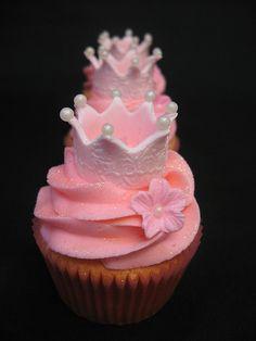 Princess cupcakes!!!