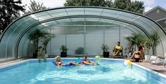 Pool enclosure slide show Outdoor pool