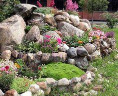 Realizzare un giardino roccioso