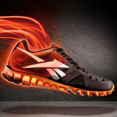 RealFlex U-FORM shrink to fit running shoes by Reebok #design #shoes #Reebok