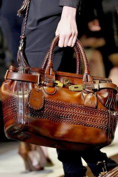 Dark Leather Gucci Handbag Click for more