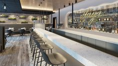 Wir erstellten für das Hotel, Restaurant, Bar Aurelia in Aldingen einige Renderings für die Vermarktung vor der Eröffnung