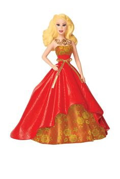 2014 Holiday Barbie Ornament