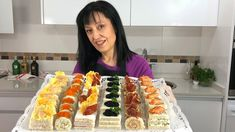 Hors D'oeuvres, Canapes, Side Recipes, Appetizers For Party, Afternoon Tea, Catering, Sushi, Buffet, Sandwiches