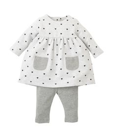 I'm shopping Heart Dress and Leggings Set in the Mothercare iPhone app.