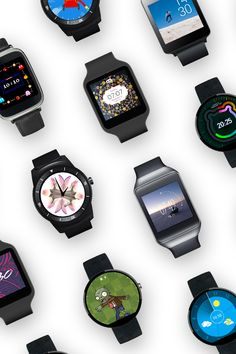 Downloadable watch faces for Android Wear.