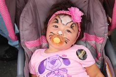 Adorable face paintings done by Katherine at the 30th Feria del Barrio! (2014)