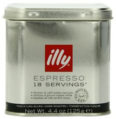 Lavazza Caffe Espresso - Medium Ground Coffee, Cans (Pack of Dark Roast, K Cups, Coffee Pods, Hot Coffee, Canning, Conservation