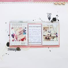 for ILS featuring SODAlicious by Janna Werner #scrapbooking