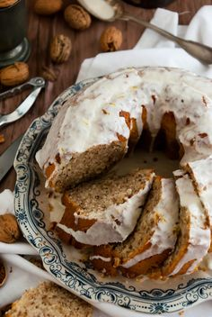 gâteau aux noix Biscuits Russes, Gateaux Cake, Biscuit Cake, Bagel, Food Hacks, Doughnut, Christmas Time, Bread, Breakfast